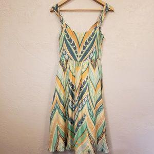 Anthropologie Lil Silk Dress 4